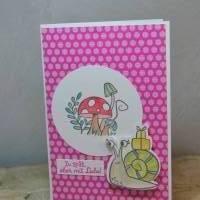 Geburtstagskarte 'Zu spät' Bild 1