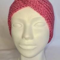 Kuschlige Stirnbänder in stylischer Knotenoptik, verschiedene Farben, Größe Unisex Damen / Teenager Bild 4