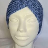 Kuschlige Stirnbänder in stylischer Knotenoptik, verschiedene Farben, Größe Unisex Damen / Teenager Bild 5