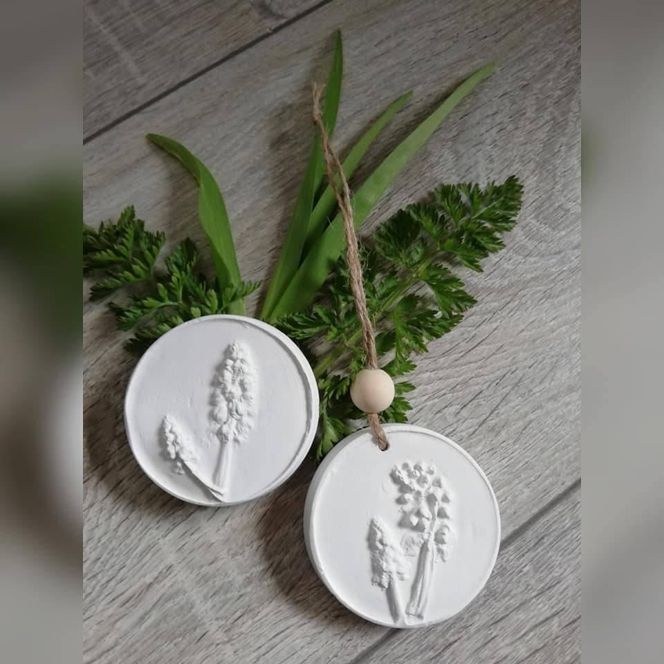 Duftstein Aromastein Duftpender Duftanhänger DUFTTALER Natur Pflanzen Traubenhyazinthe Bild 1