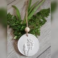 Duftstein Aromastein Duftpender Duftanhänger DUFTTALER Natur Pflanzen Traubenhyazinthe Bild 3
