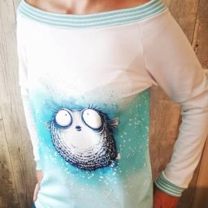 Sweatshirt im Miss Fugo Design Größe S/M Bild 1