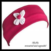 Stirnband mit Blüte in Wunschfarbe  Bild 1