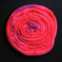 Handgefärbte Wolle Bild 1