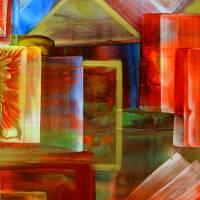 "Kunst–Postkarte - ""Farben & Formen""  Bild 1"