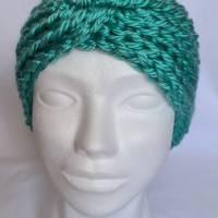 Kuschlige, extra dicke Stirnbänder in stylischer Knotenoptik, verschiedene Farben, Größe Unisex Damen / Teenager Bild 2
