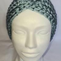 Kuschlige, extra dicke Stirnbänder in stylischer Knotenoptik, verschiedene Farben, Größe Unisex Damen / Teenager Bild 5