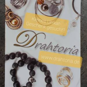 DRAHTORIA dezente Ringe aus Aludraht Handarbeit Fingerring silber oder helles gold kupfer Ring Bild 8