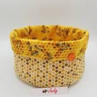 Brotkörbchen/Utensilo Bienen mit Waben Bild 1