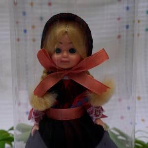 Trachtenpuppe aus Kopenhagen Dänemark, hochwertige Verarbeitung, für Sammler, Vintage Puppe, ca. 17 cm Bild 1