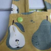 """Happy Pears Strampler Gr. 56 Mitwachs Strampler Fröhliche Birnen ökologischer""""Freche Früchtchen"""" Kollektion Bild 2"""