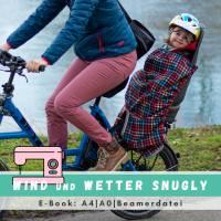 Schnittmuster - Kindersitz Beinwärmer, SNUGLY- Wind- und Wetterschutz für den Fahrradsitz Bild 1