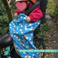 Schnittmuster - Kindersitz Beinwärmer, SNUGLY- Wind- und Wetterschutz für den Fahrradsitz Bild 3