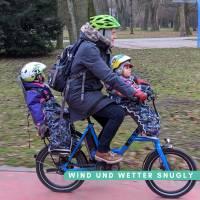 Schnittmuster - Kindersitz Beinwärmer, SNUGLY- Wind- und Wetterschutz für den Fahrradsitz Bild 4