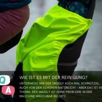 Schnittmuster - Kindersitz Beinwärmer, SNUGLY- Wind- und Wetterschutz für den Fahrradsitz Bild 6