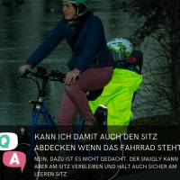 Schnittmuster - Kindersitz Beinwärmer, SNUGLY- Wind- und Wetterschutz für den Fahrradsitz Bild 7