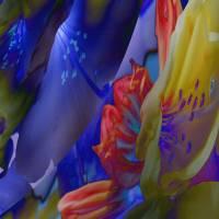 Blue lights  - Digital-ART - Kunstwerk 1/10 – Design  Ulrike Kröll Bild 2