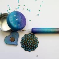 Diamantmalerei Stift mit Wachsdose und Mindermagnet Bild 3
