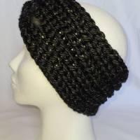 Kuschlige, extra dicke Stirnbänder in stylischer Knotenoptik, verschiedene Farben, Größe Unisex Damen / Teenager Bild 3