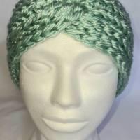 Kuschlige, extra dicke Stirnbänder in stylischer Knotenoptik, verschiedene Farben, Größe Unisex Damen / Teenager Bild 4