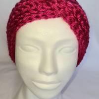 Kuschlige, extra dicke Stirnbänder in stylischer Knotenoptik, verschiedene Farben, Größe Unisex Damen / Teenager Bild 6