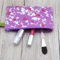 Wachstuch - Kleines Schminktäschchen - KrimsKrams-Täschchen - Kosmetiktäschchen  Bild 5
