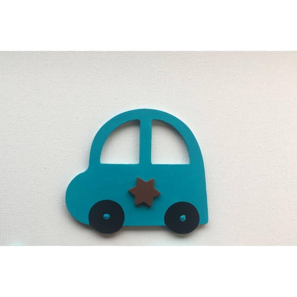 Auto Deko, passend zu den Buchstaben Bild 1