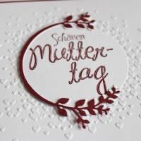 """Glückwunschkarte """"Schönen Muttertag"""" aus der Manufaktur Karla Bild 3"""