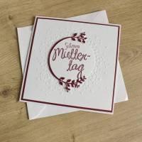 """Glückwunschkarte """"Schönen Muttertag"""" aus der Manufaktur Karla Bild 4"""