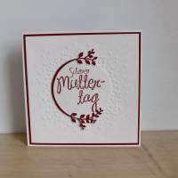 """Glückwunschkarte """"Schönen Muttertag"""" aus der Manufaktur Karla Bild 5"""
