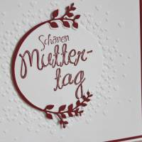 """Glückwunschkarte """"Schönen Muttertag"""" aus der Manufaktur Karla Bild 6"""