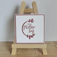 """Glückwunschkarte """"Schönen Muttertag"""" aus der Manufaktur Karla Bild 7"""