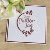 """Glückwunschkarte """"Schönen Muttertag"""" aus der Manufaktur Karla Bild 9"""