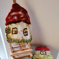 Filzhaus Wohndeko zum hängen Bild 8