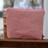 Headset/Kopfhörertasche  Reisetasche Urlaubstäschchen rosa Bild 2