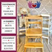 Lernturm nach Montessori - in Wunschfarbe & montiert Bild 1