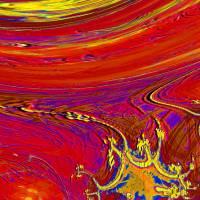 Rot und andere … - Digital-ART - limitiertes Kunstwerk 1/10 – Design  Ulrike Kröll Bild 3
