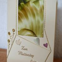 Muttertag – Grußkarte mit Malerei Bild 2