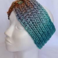 Kuschlige Stirnbänder mit Farbverlauf in stylischer Knotenoptik, verschiedene Farben, Größe Unisex Damen / Teenager Bild 3