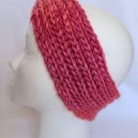 Kuschlige Stirnbänder mit Farbverlauf in stylischer Knotenoptik, verschiedene Farben, Größe Unisex Damen / Teenager Bild 5