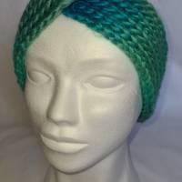 Kuschlige Stirnbänder mit Farbverlauf in stylischer Knotenoptik, verschiedene Farben, Größe Unisex Damen / Teenager Bild 6