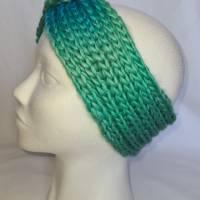 Kuschlige Stirnbänder mit Farbverlauf in stylischer Knotenoptik, verschiedene Farben, Größe Unisex Damen / Teenager Bild 7