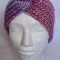Kuschlige Stirnbänder mit Farbverlauf in stylischer Knotenoptik, verschiedene Farben, Größe Unisex Damen / Teenager Bild 8