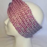 Kuschlige Stirnbänder mit Farbverlauf in stylischer Knotenoptik, verschiedene Farben, Größe Unisex Damen / Teenager Bild 9