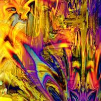 Ein Leuchten geht durch die Nacht - Digital-ART - Kunstwerk 2/10 – Design  Ulrike Kröll Bild 3