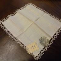 Vintage - Spitzentaschentuch - Damentaschentuch - Echt Klöppelspitze Bild 3