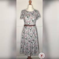 Kleid * Wunschgröße * Blumen Design Bild 1