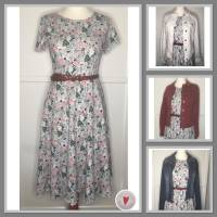 Kleid * Wunschgröße * Blumen Design Bild 10
