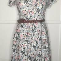 Kleid * Wunschgröße * Blumen Design Bild 2