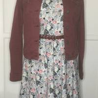 Kleid * Wunschgröße * Blumen Design Bild 7
